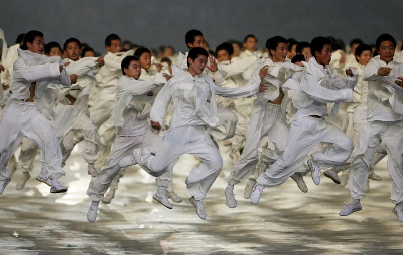 Пекин. Открытие олимпиады 08.08.08