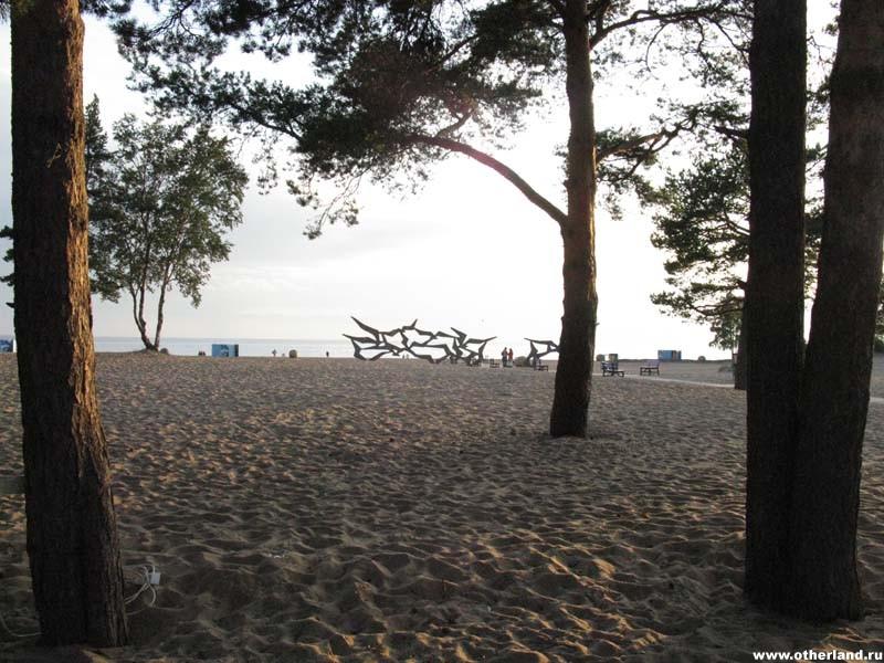 Пляж Солнечный. Санкт-Петербург