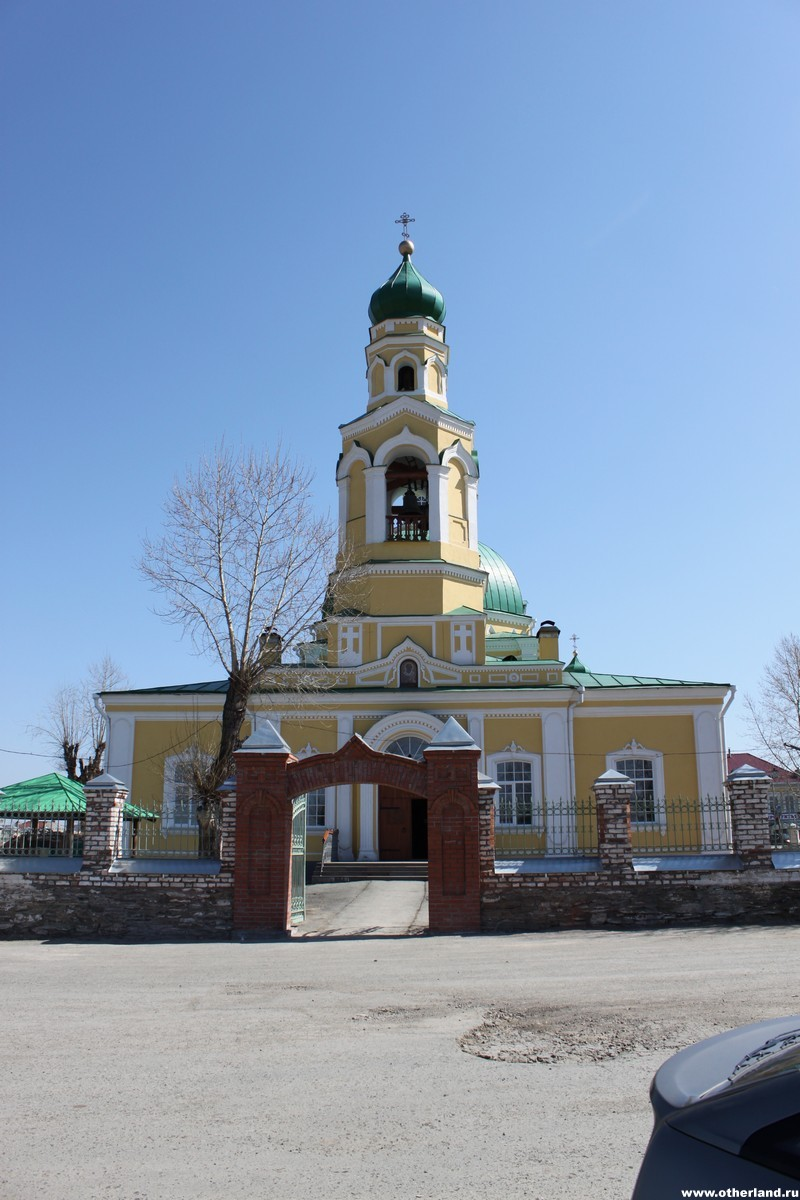Церковь в Николо-Павловском