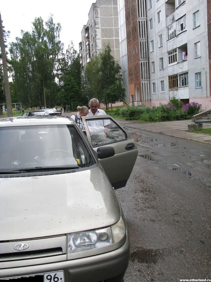 На пути в Крым
